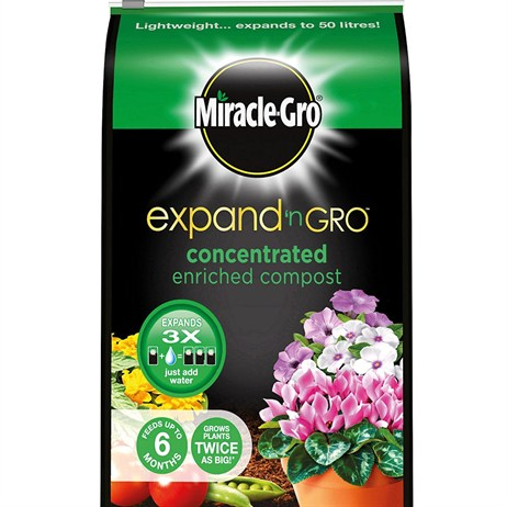 Miracle-gro Expand N gro Enriched Compost - 13L (119424)