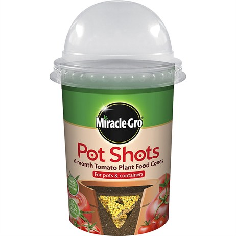 Miracle-gro Pot Shots 6 Month Tomato Food Cones - 160g (119413)