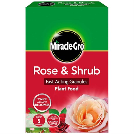 Miracle-gro Rose & Shrub Fast Acting granules Plant Food - 3kg (100063)