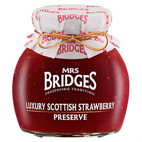 Mrs Bridges Luxury Scottish Strawberry Preserve - 340g (MB8100)