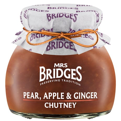 Mrs Bridges Pear, Apple & Ginger Chutney - 100g (MB860R)