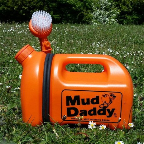 Mud Daddy 5L Portable Dog & Outdoor Mud Washing Brush - Orange