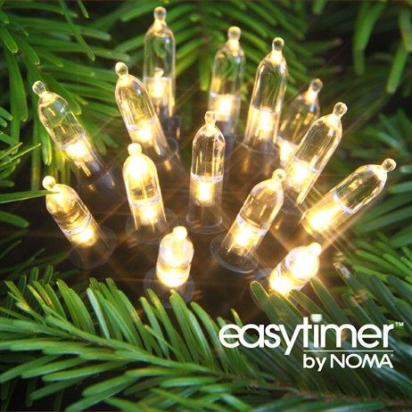 Noma 120 Classic White LED String Christmas Lights (6816040GAW)