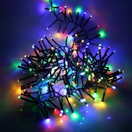 Noma 280 Fit & Forget Multi Coloured Cluster Lights Battery Christmas Lights (6816009GM)