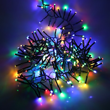 Noma 960 Multi Colour LED Cluster Christmas Lights (2515018GM)