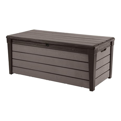 Keter Brushwood Storage Box - Expresso Brown 455L (17202631)