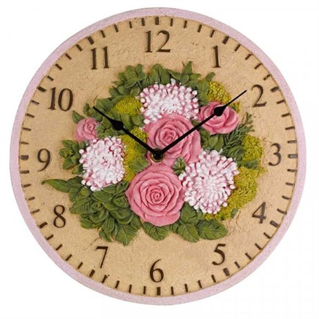 Outside In Floral 12 inch Wall Clock (5160005)