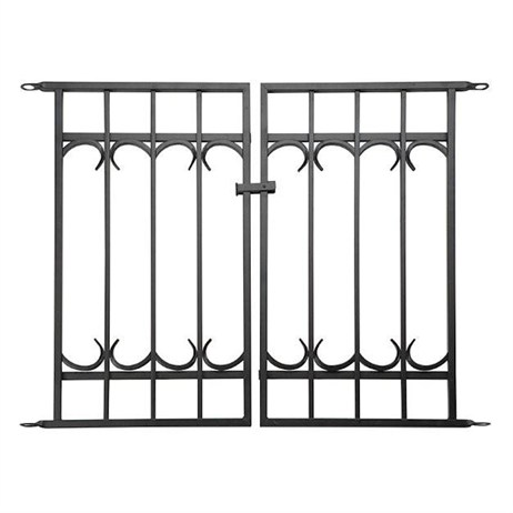 Panacea Park Lane Gate - Black (87531)