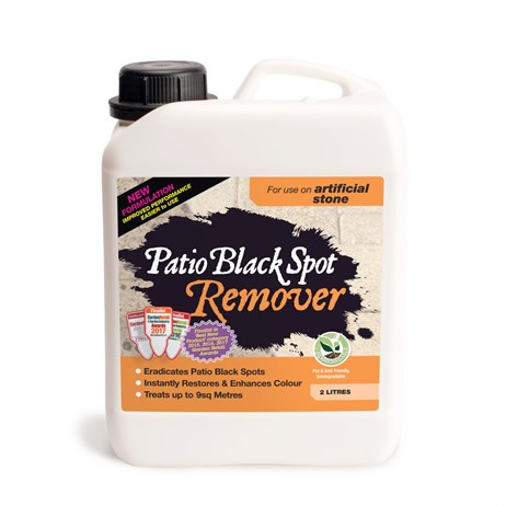 Patio Black Spot Remover 2 litres for Artificial Stone