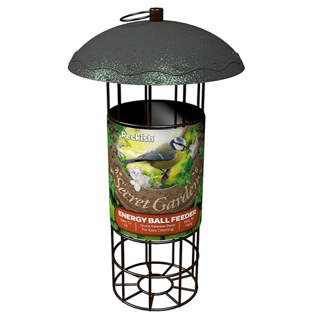 Peckish Secret Garden Energy Suet Fat Wild Ball Bird Feeder (60051221)
