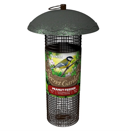 Peckish Secret Garden Peanut Wild Bird Feeder (60051220)