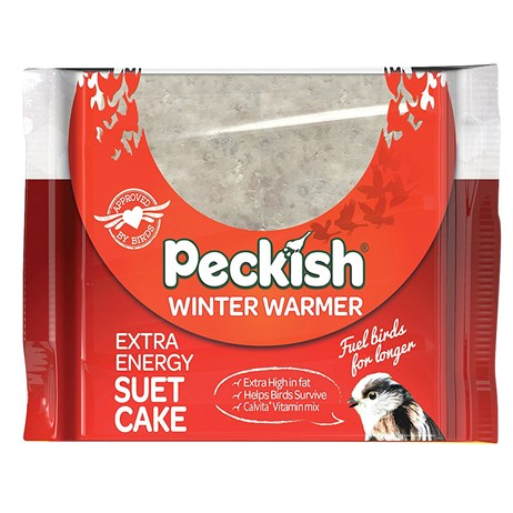 Peckish Winter Warmer Suet Cake Wild Bird Food - 300g (60050136)