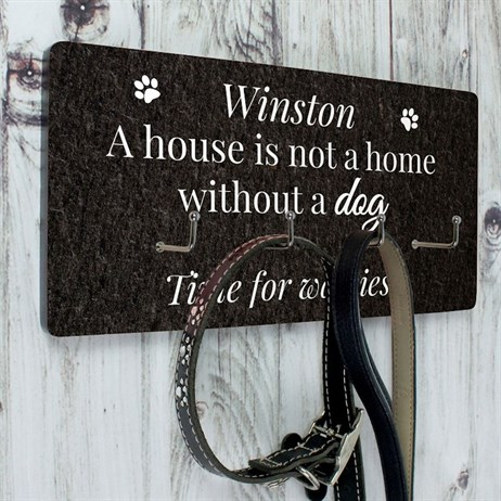Personalised Dog Lead Hooks (P071156) - Direct Dispatch