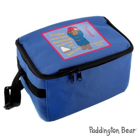 Personalised Paddington Bear Lunch Bag (P0710G68) - Direct Dispatch