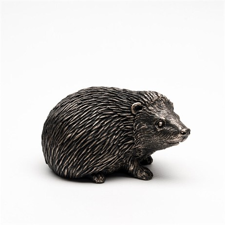 Potty Feet Decorative Pot Feet - Bronze Hedgehog - Set of 3 (PF0028)