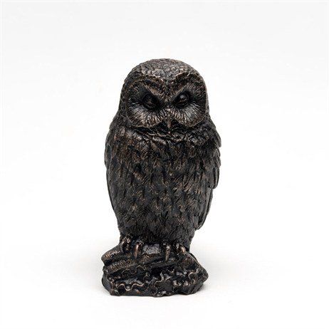 Potty Feet Decorative Pot Feet - Bronze Owl - Set of 3 (PF0015)