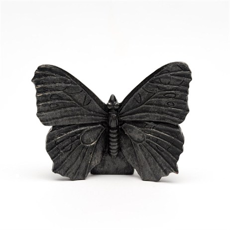 Potty Feet Decorative Pot Feet - Bronze Peacock Butterfly - Set of 3 (PF0020)