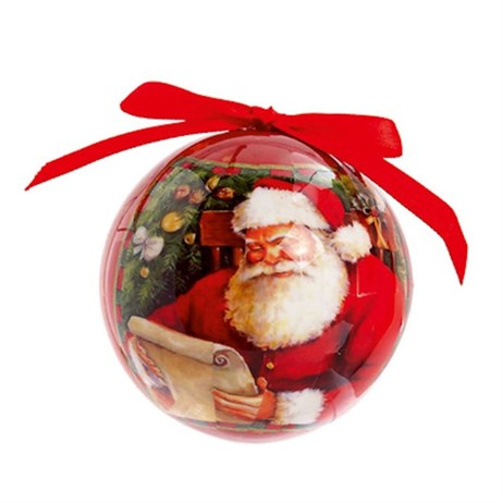 Premier Christmas Hanging Decoration Santa Ball - Design 2 (TD155450)