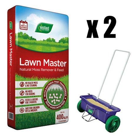 Promotion! Buy 2 Westland Lawn Master 400m2 & Get A Free Spreader - ONLINE EXCLUSIVE