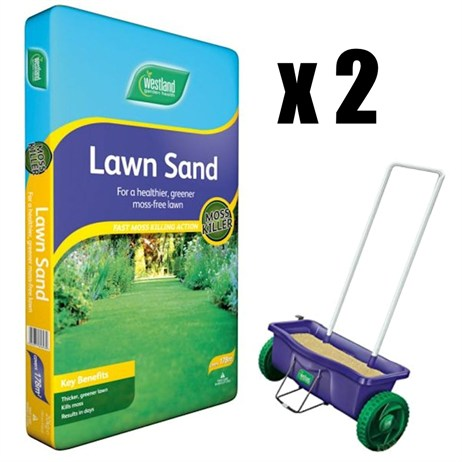 Promotion! Buy 2 Westland Lawn Sand 16kg & Get A Half Price Spreader - ONLINE EXCLUSIVE