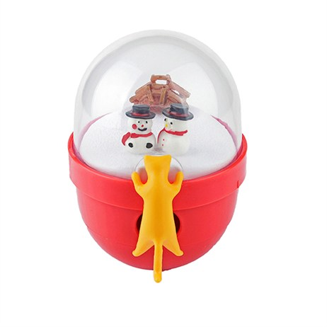 Rosewood Cat Toy - Luxury Christmas Snow Globe Cat Tumbler (90639)