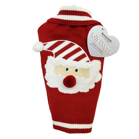 Rosewood Dog Clothing - Santa Claus Christmas Sweater Small (38889)