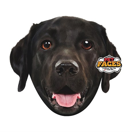 Rosewood Pet Faces Cushions - Black Lab Cushion