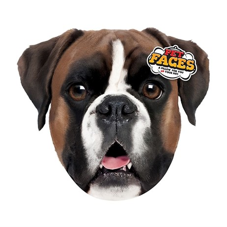 Rosewood Pet Faces Cushions - Boxer Cushion