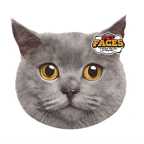 Rosewood Pet Faces Cushions - British Shorthair Cushion