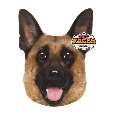 Rosewood Pet Faces Cushions - German Shepherd Cushion