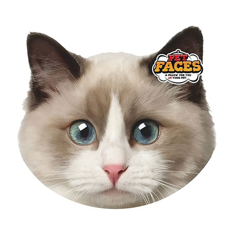 Rosewood Pet Faces Cushions - Ragdoll Cushion