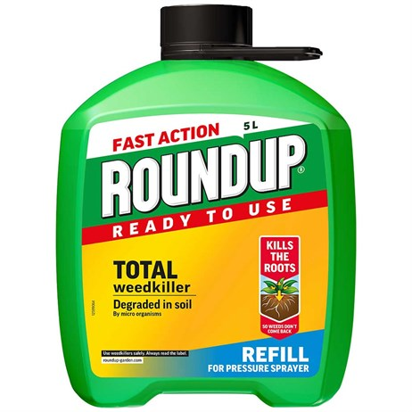 Roundup Fast Action Pump N go Weed Killer Refill 5L (112113)