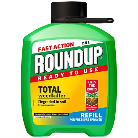 Roundup Fast Action Weed Killer Refill -  2.5L (117956)