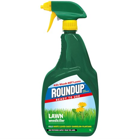 Roundup Lawn Weed Killer Ready to Use 1L (119468)