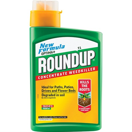 Roundup Optima+ Concentrate Weed Killer - 1L (116967)