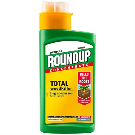 Roundup Optima+ Concentrate Weed Killer - 540ml (116972)