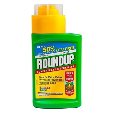 Roundup Optima+ Concentrate Weed Killer Plus 50% Free - 140ml (118947)