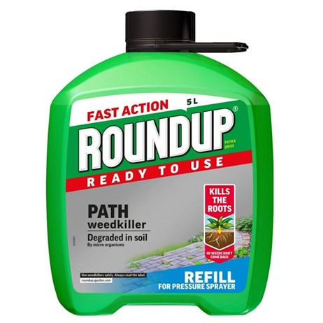 Roundup Path & Drive Pump N go Weed Killer Refill - 5L (100117)