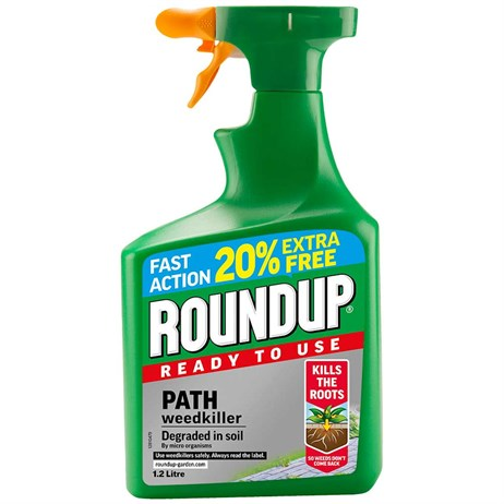 Roundup Path Weed Killer Ready to Use 1.2L (119581)