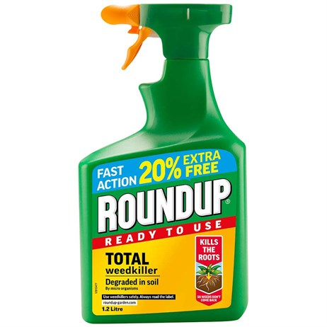Roundup Total Weed Killer Ready to Use 1.2L (119580)