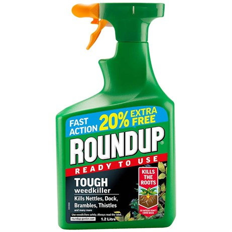 Roundup Tough Weed Killer Ready to Use 1.2L (119582)