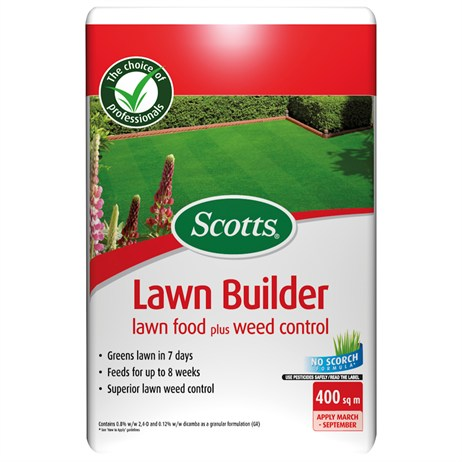 Scotts Lawnbuilder Feed & Weed Control 400m2 (119543)