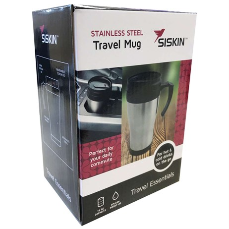 Siskin Stainless Steel Travel Mug