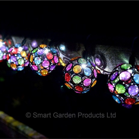 Smart Garden 10 Multi Glow Gems String Lights (1062100RP)