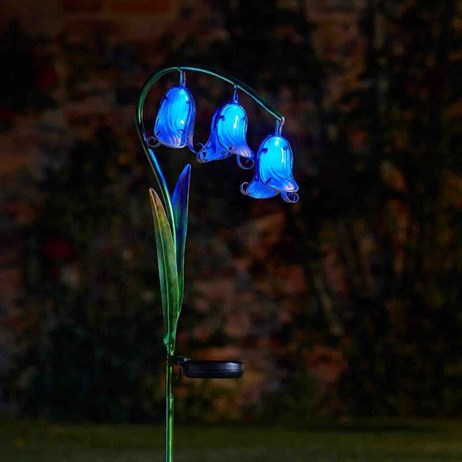 Smart Garden Bluebells Glass Solar Flowers (1012534)