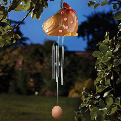 Smart Garden Ceramic Hen Wind Chime (1090155)