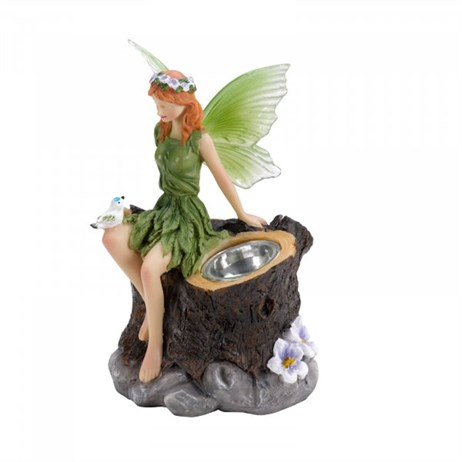 Smart Garden Fairy Green Solar Figurines (1030430-Green)