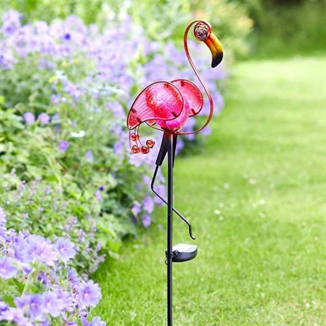 Smart Garden Flamingo Solar Stake Light (1012630)