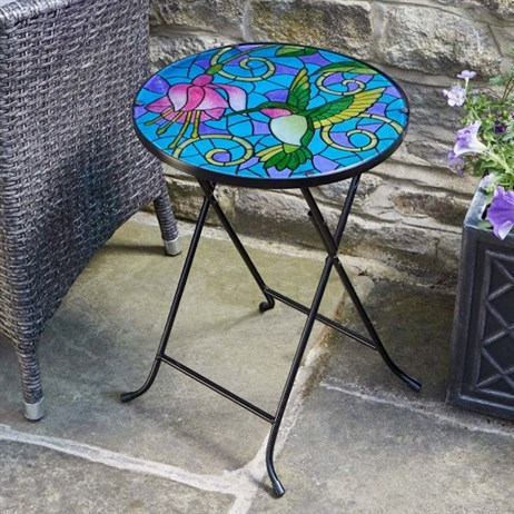 Smart Garden Hummingbird Table Glass Decor (5030052)