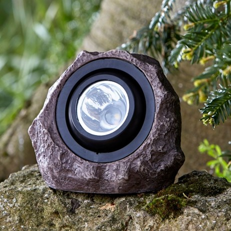 Smart Garden Jumbo Rock Light 15L Super Bright Solar Spot Light (1004006)
